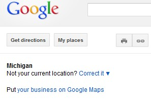 Google Maps Location Feature