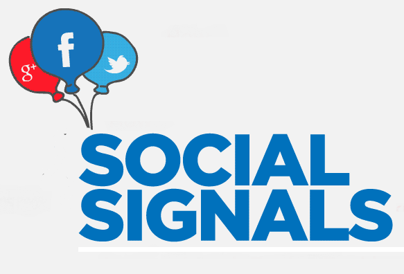 Social Signals Search Rankings